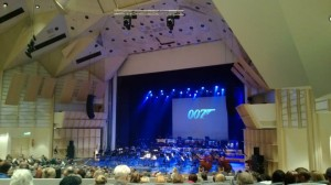 Konserttisalissa